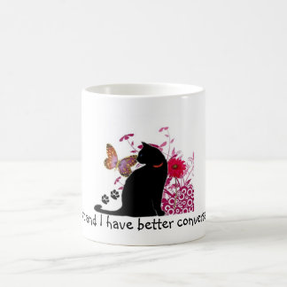 Feline Chatter Coffee Mug