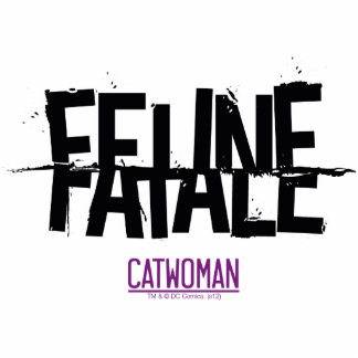 Feline Fatale Standing Photo Sculpture