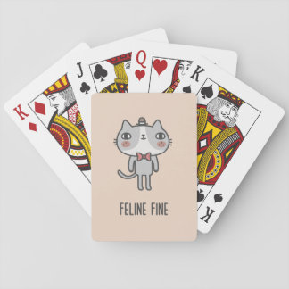 Feline Fine Playing Cards