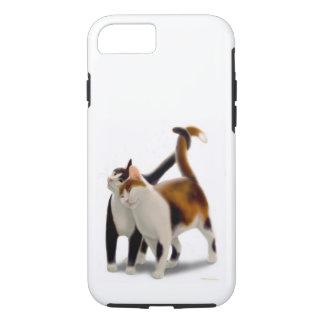 Feline Friends Cat iPhone Tough Case