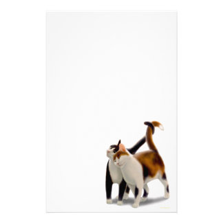Feline Friends Cat Stationery