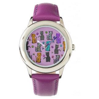 Feline Fun Wristwatches