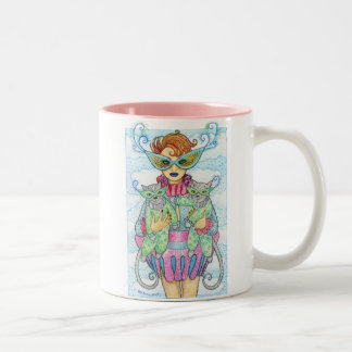 Feline Masquerade Mug