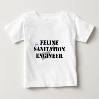Feline Sanitation Engineer Baby T-Shirt
