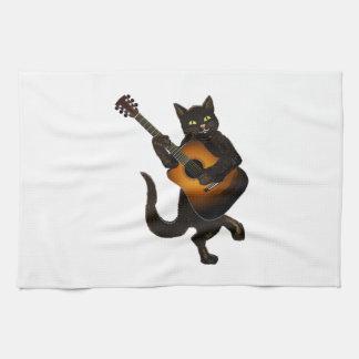 Feline Tune Kitchen Towel