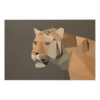 Feline Wood Print