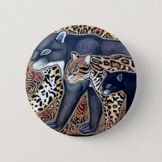 Felines of Costa Rica - Big cats 2 Inch Round Button