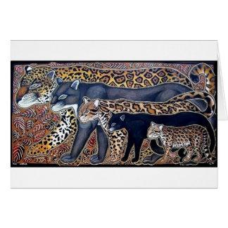 Felines of Costa Rica - Big cats Card