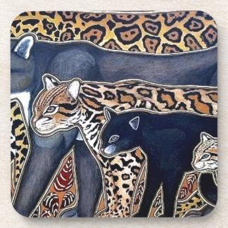 Felines of Costa Rica - Big cats Drink Coasters