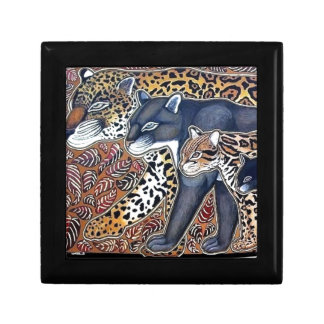 Felines of Costa Rica - Big cats jeweler Gift Box