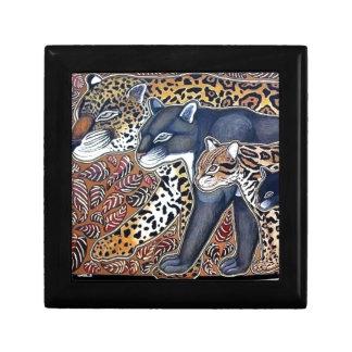 Felines of Costa Rica - Big cats jeweler Jewelry Box