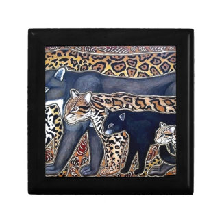 Felines of Costa Rica - Big cats Keepsake Boxes