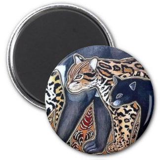 Felines of Costa Rica - Big cats Magnet