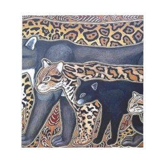 Felines of Costa Rica - Big cats Notepads