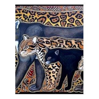 Felines of Costa Rica - Big cats Postcard