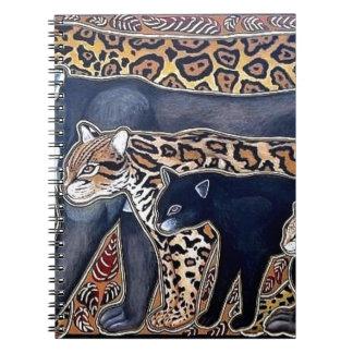 Felines of Costa Rica - Big cats Spiral Notebook