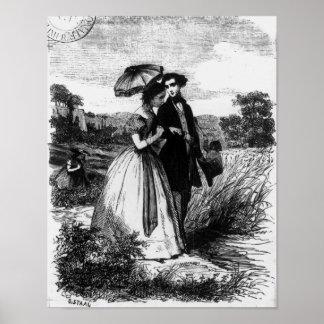 Felix de Vandenesse and Madame de Mortsauf Poster