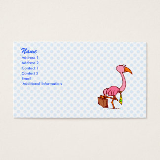 Felix Flamingo Business Card