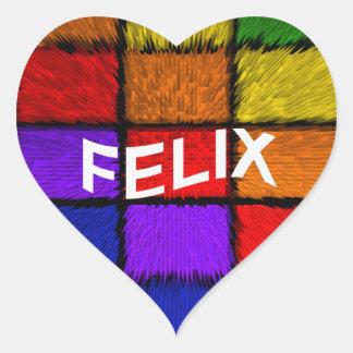 FELIX HEART STICKER