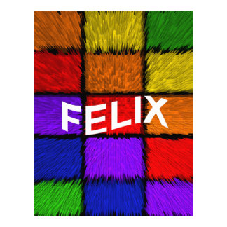 FELIX LETTERHEAD