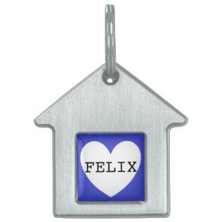 ❤️   FELIX pet tag by DAL