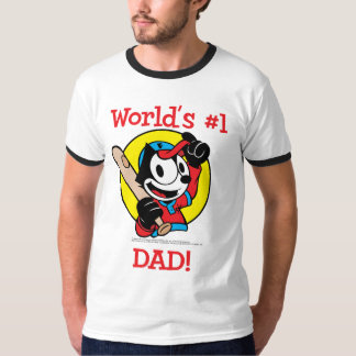 Felix the Cat Father's Day Ringer T-Shirt