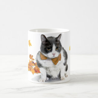 Felix: the kitty on a November themed mug