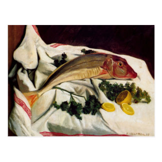 Felix Vallotton - A Gurnard one has towel Postcard