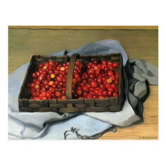 Felix Vallotton - Basket of Cherries Postcard