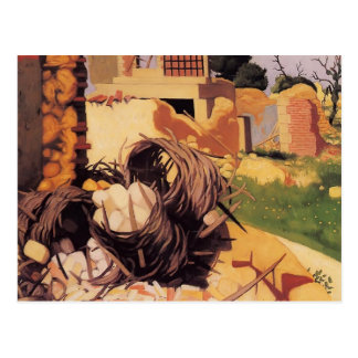 Felix Vallotton - Ruins at Souain Postcard