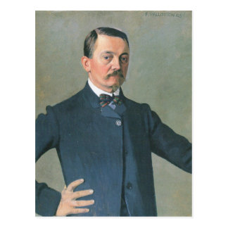Felix Vallotton - Self-Portrait Postcard