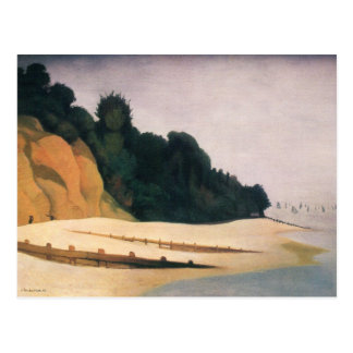 Felix Vallotton - Shore scene with tree silhouette Postcard