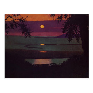 Felix Vallotton - Sunset Postcard