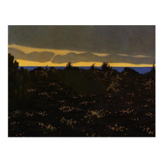 Felix Vallotton - Twilight Postcard
