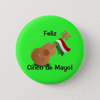 Feliz Cinco de Mayo! 2 Inch Round Button
