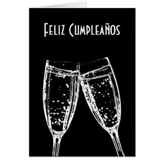 Feliz Cumpleaños / Happy Birthday Spanish Language Card