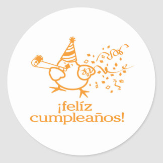 ¡felíz cumpleaños! = happy birthday! stickers