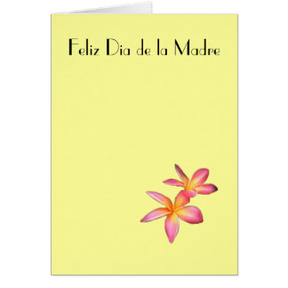 Feliz Dia de la Madre 11 Card