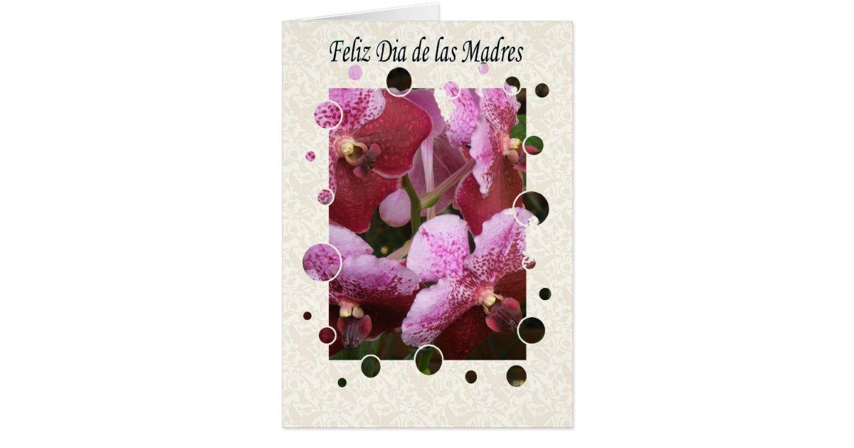 feliz dia de las madres general greeting card | Zazzle