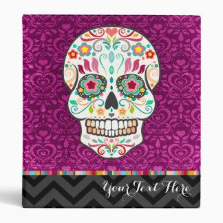 Feliz Muertos - Custom Sugar Skull Binder