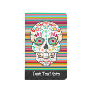 Feliz Muertos - Custom Sugar Skull Journal