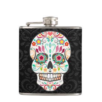 Feliz Muertos - Festive Sugar Skull Flask