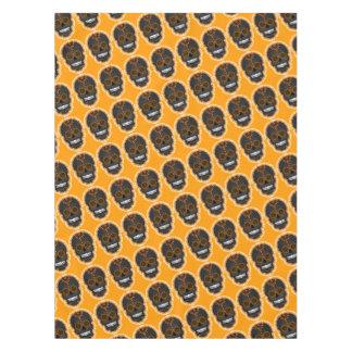 Feliz Muertos - Festive Sugar Skull Pattern Tablecloth