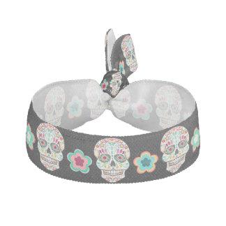Feliz Muertos - Festive Sugar Skulls Hair Tie