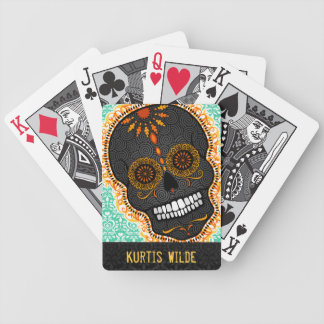 Feliz Muertos - Happy Sugar Skull Custom Cards