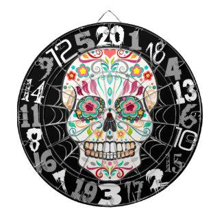 Feliz Muertos - Happy Sugar Skull Dartboard