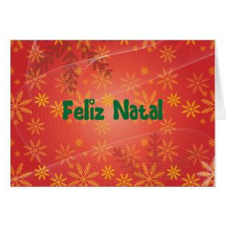 Feliz Natal Card