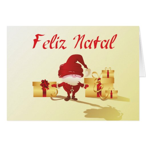 Feliz Natal Greeting Card