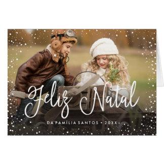 Feliz Natal   Cartão de Natal Card