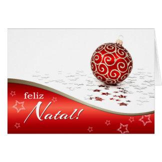 Feliz Natal. Christmas Cards in Portuguese